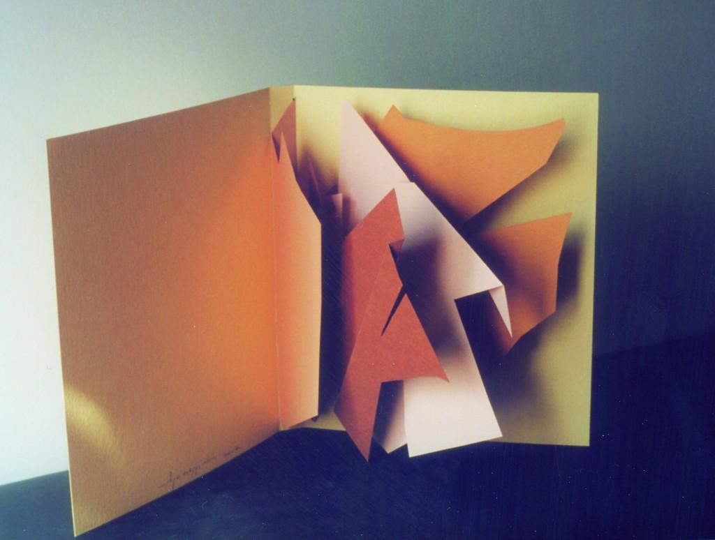 1995 – cartoncini colorati